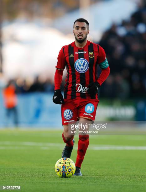 Brwa Nouri of Ostersunds FK during the Allsvenskan match between Ostersunds FK and Djurgardens IF at Jamtkraft Arena on april 1 2018 in Ostersund...