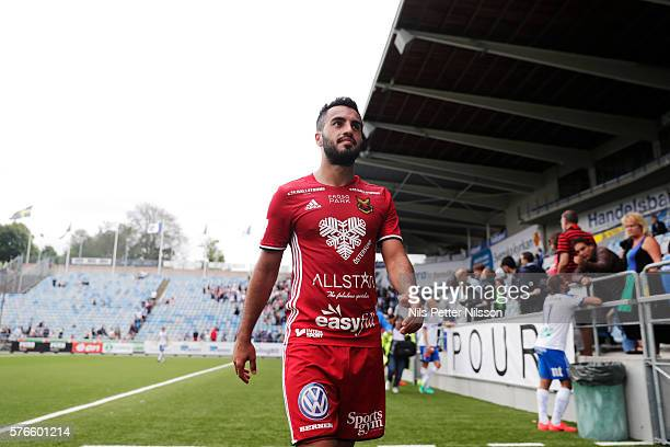Brwa Nouri of Ostersunds FK during the allsvenskan match between IFK Norrkoping and Ostersunds FK at Ostgotaporten on July 16 2016 in Norrkoping...