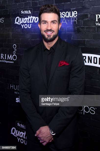 Bryan Abasolo of 'The Bachelorette' attends OK Magazine's Fall Fashion Week 2017 Event at Hudson Hotel on September 13 2017 in New York City