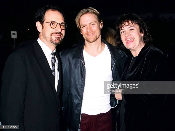 Bryan Adams and Judy McGrath during 1996 City of Hope at Universal Studios Hollywood in Universal City, California, United States.