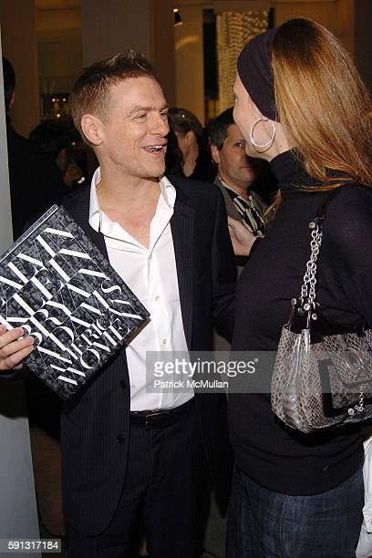 Bryan Adams and Linda Evangelista attend Calvin Klein hosts a party to celebrate Bryan Adams' new photo book American Women to benefit The Society of...