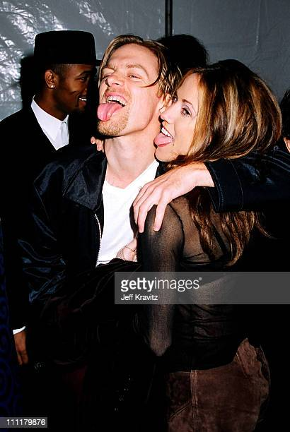 Bryan Adams and Sheryl Crow during 1996 City of Hope at Universal Studios Hollywood in Universal City California United States