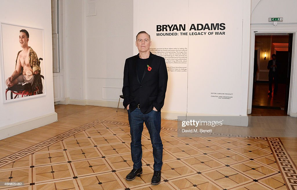 """Wounded: The Legacy Of War"" - Private View At Somerset House : News Photo"