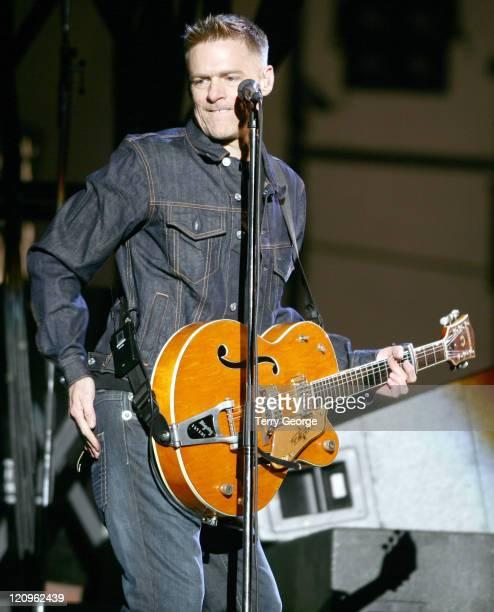 Bryan Adams during Bryan Adams In Concert June 1 2006 at Galpharm Stadium in Huddersfield Great Britain