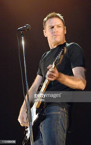 Bryan Adams during Bryan Adams 'Room Service' Japan Tour 2005 in Concert at Nippon Budokan April 27 2005 at Nippon Budokan in Tokyo Japan