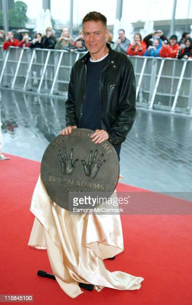 Bryan Adams during Bryan Adams Wembley Walk of Fame Photocall May 10 2007 in London Great Britain