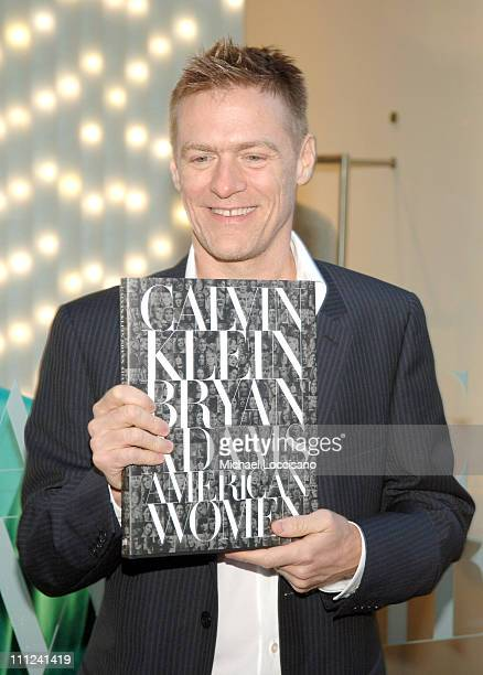 Bryan Adams during Calvin Klein Inc and Bryan Adams Host the Launch of His New Photography Book 'American Women' at The Calvin Klein Collection Store...