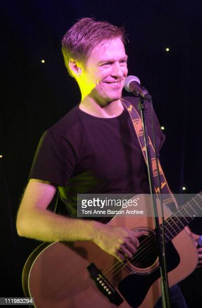 Bryan Adams during MIPCOM 2001 Bryan Adams Performs in honour of MTV Networks President Tom Freston Personality of the Year at Carlton Hotel in...