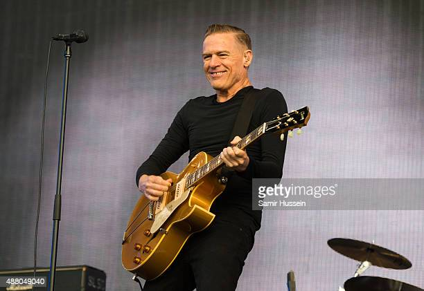 Bryan Adams performs at BBC Radio 2 Live In Hyde Park at Hyde Park on September 13, 2015 in London, England.