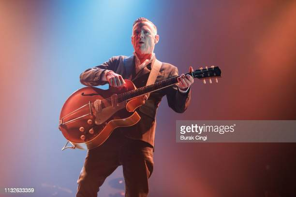 Bryan Adams performs at The SSE Wembley Arena on February 27 2019 in London England