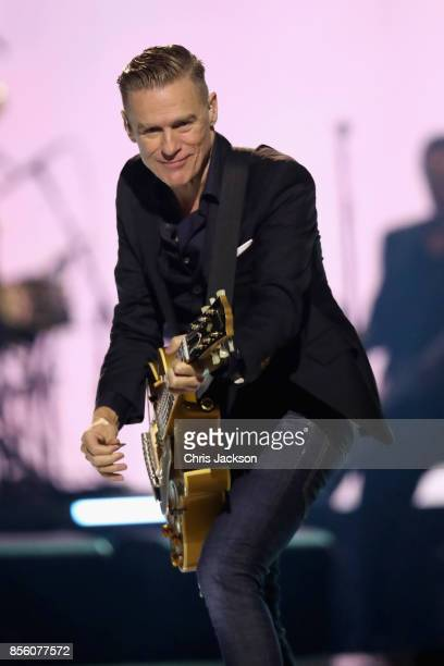 Bryan Adams performs during the closing ceremony of the Invictus Games 2017 at Air Canada Centre on September 30 2017 in Toronto Canada