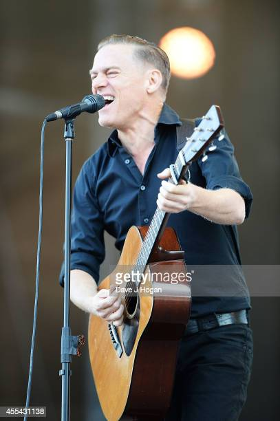 Bryan Adams performs live at The Jaguar Land Rover Invictus Games Closing Concert at Olympic Park on September 14 2014 in London England