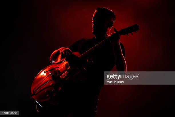 Bryan Adams performs on Day 1 of the RBC Bluesfest at LeBreton Flats on July 5 2018 in Ottawa Canada