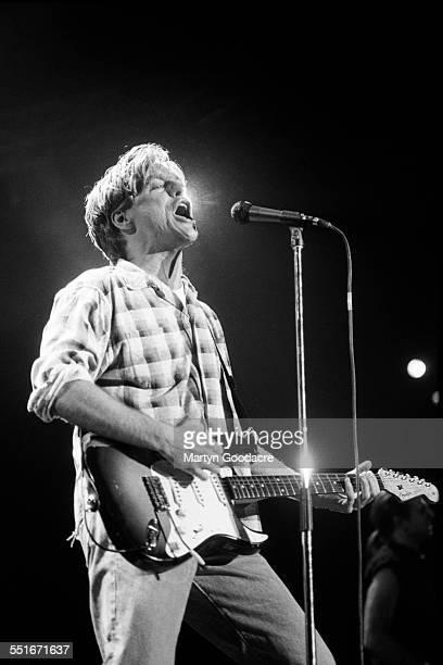 Bryan Adams performs on stage Ireland 1990