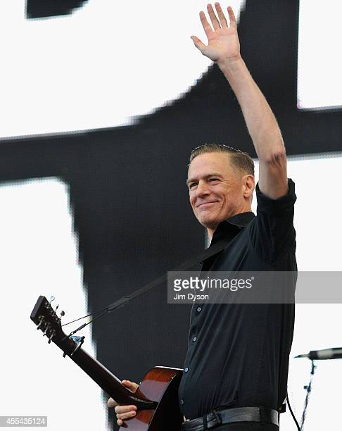 Bryan Adams performs onstage during the Invictus Games Closing Concert at the Queen Elizabeth Olympic Park on September 14, 2014 in London, England.