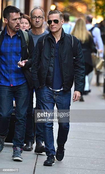 Bryan Adams seen on the streets of Manhattan on November 4 2015 in New York City