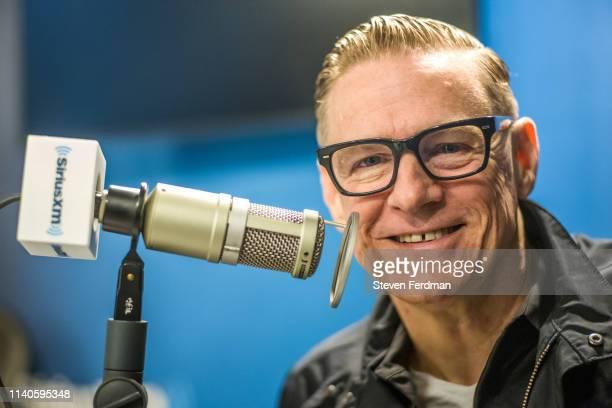 Bryan Adams visits SiriusXM Studios on May 1, 2019 in New York City.