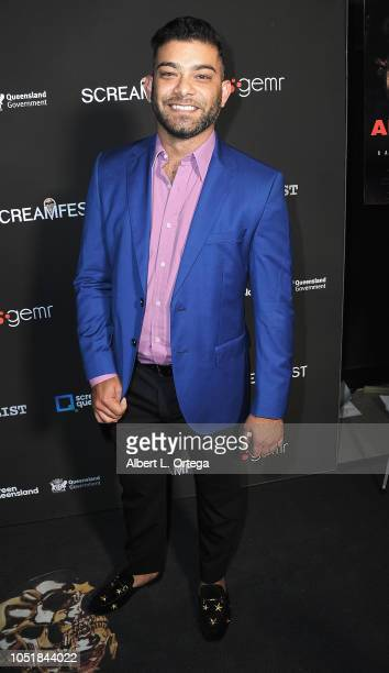Bryan Allen arrives for the Screamfest LA Opening Night Screening Of 'The Amityville Murders' at TCL Chinese 6 Theatres on October 9 2018 in...