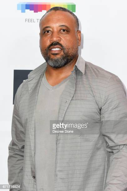 """Bryan Barber attends the Premiere of """"The Black Ghiandola"""" hosted by Make A Film Foundation at Samuel Goldwyn Theater on April 22, 2017 in Beverly..."""