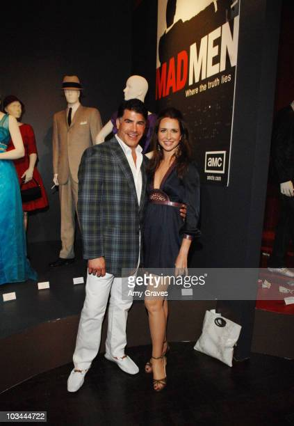 Bryan Batt and Katherine Jane Bryant attend the Academy Of Television Arts & Sciences Costume Design & Supervision Peer Group Honoring The 60th Emmy...