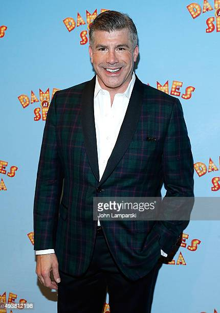 """Bryan Batt attends Dames At Sea"""" Opening Night at Helen Hayes Theatre on October 22, 2015 in New York City."""