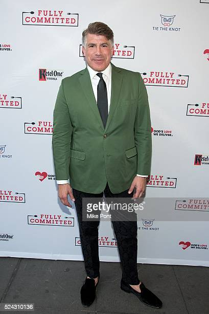 Bryan Batt attends the Fully Committed Broadway opening night at Lyceum Theatre on April 25 2016 in New York City