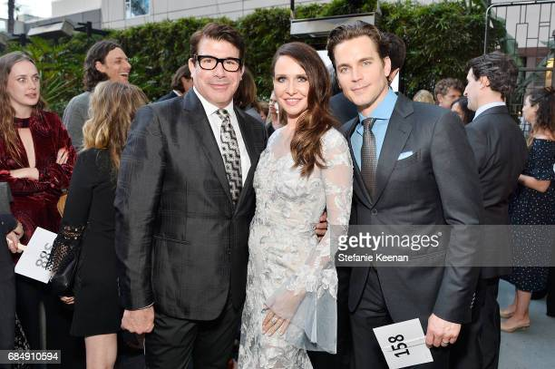 Bryan Batt Janie Bryant and Matt Bomer attend Uplift Family Services at Hollygrove Gala at W Hollywood on May 18 2017 in Hollywood California