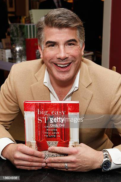 Bryan Batt Signs Big Easy Style Creating Rooms You Love To Live In at Bergdorf Goodman on December 17 2011 in New York City