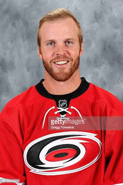 Bryan Bickell of the Carolina Hurricanes poses for his official headshot for the 20162017 season on September 22 2016 at Carolina Family Practice and...