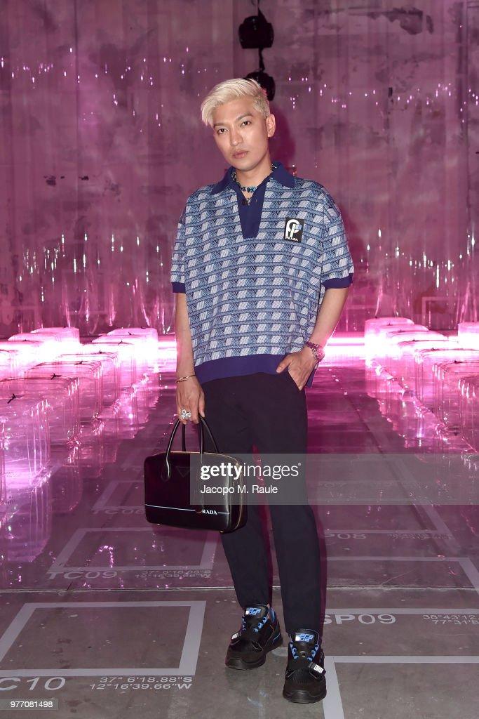 Bryan Boy Attends Prada Men S Spring Summer 2019 Fashion Show On
