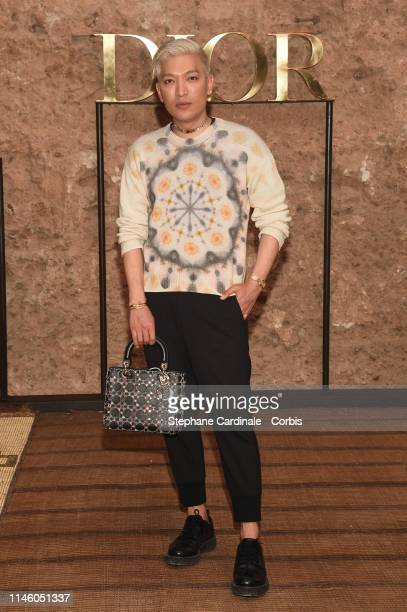 Bryan Boy attends the Christian Dior Couture S/S20 Cruise Collection on April 29 2019 in Marrakech Morocco