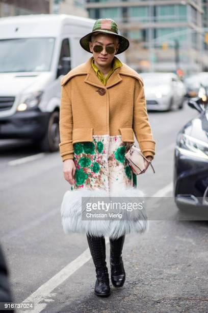 Bryan Boy seen outside SelfPortrait on February 10 2018 in New York City