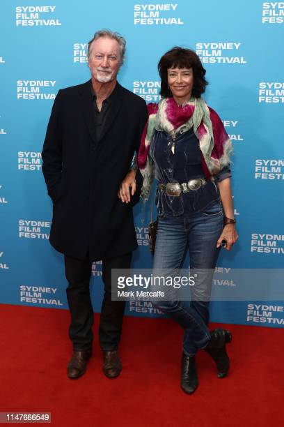Bryan Brown and Rachel Ward attend the 66th Sydney Film Festival Program Launch at Sydney Town Hall on May 08 2019 in Sydney Australia