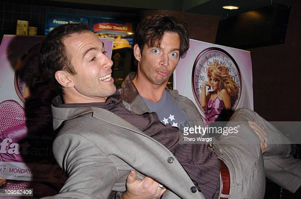 """Bryan Callen and Harry Connick Jr. During """"Fat Actress"""" Showtime Network's New York City Premiere - Inside Arrivals at Clearview Chelsea West Cinemas..."""