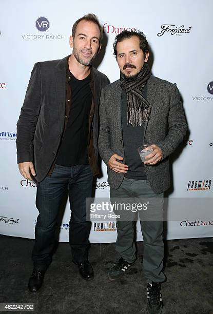 Bryan Callen and John Leguizamo attend the ChefDance 2015 presented by Victory Ranch and Sponsored by Merrill Lynch, Freixenet and Anchor Distilling...