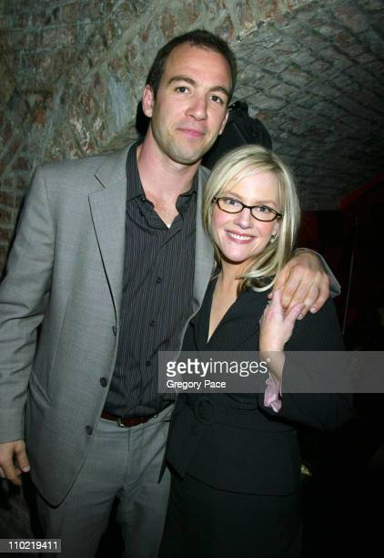 """Bryan Callen and Rachael Harris of """"Fat Actress"""" during Showtime's ''Fat Actress'' New York City Premiere - After Party at Level V at Vento in New..."""