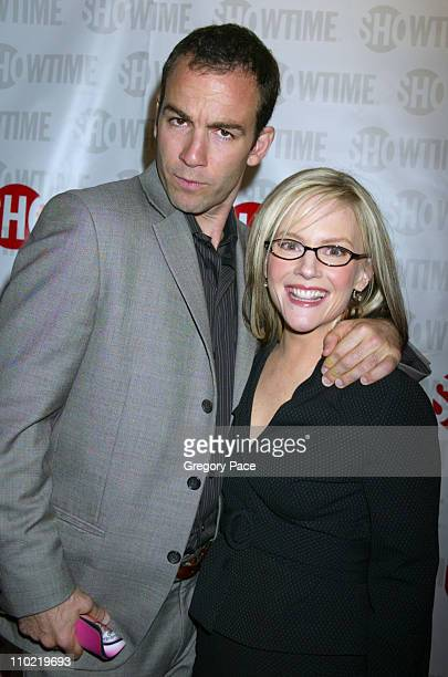 """Bryan Callen and Rachael Harris of """"Fat Actress"""" during Showtime's """"Fat Actress"""" New York City Premiere - Inside and Red Carpet Arrivals at Clearview..."""