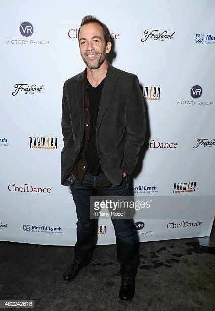 Bryan Callen attends the ChefDance 2015 presented by Victory Ranch and Sponsored by Merrill Lynch, Freixenet and Anchor Distilling on January 25,...