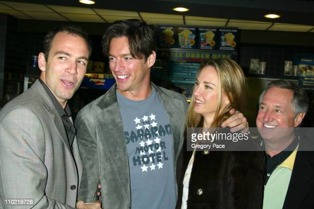 Bryan Callen of Fat Actress with Harry Connick Jr Jill Goodacre and Neil Sedaka