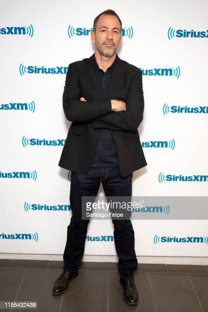 Bryan Callen visits SiriusXM Studios on June 12, 2019 in New York City.