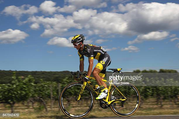 Bryan Coquard of France and Direct Energie during the 12th stage of Le Tour de France from Montpellier to Mont Ventoux on July 14 2016 in Montpellier...