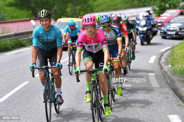 Bryan Coquard of France and Team Vital Concept Club / Simon Clarke of Australia and Team EF Education First Drapac P/B Cannondale / Odd Christian...