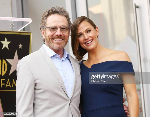 A general view of atmosphere at the ceremony honoring Jennifer Garner with a Star on The Hollywood Walk of Fame held on August 20 2018 in Hollywood...