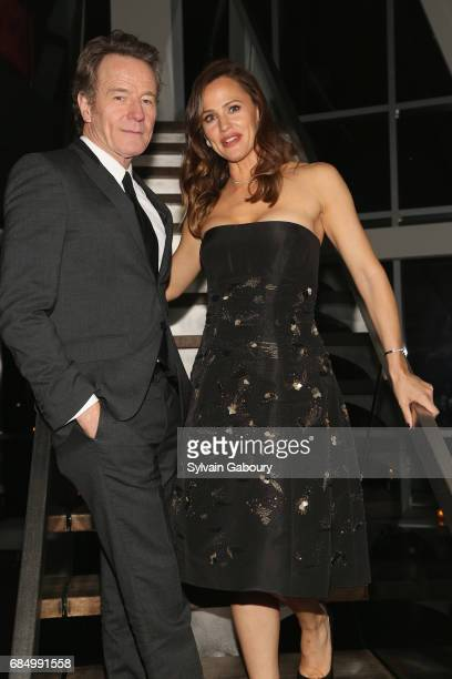 Bryan Cranston and Jennifer Garner attend The Cinema Society and FIJI Water host the after party for IFC Films' 'Wakefield' on May 18 2017 in New...