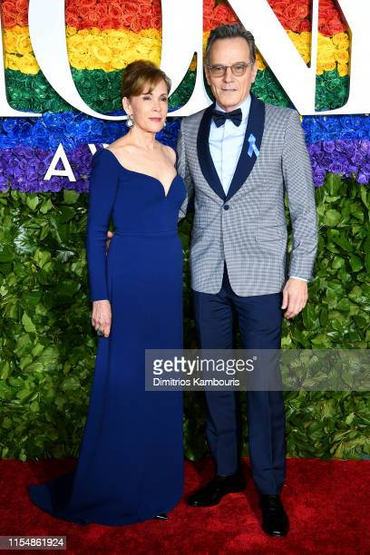 Bryan Cranston and Robin Dearden attend the 73rd Annual Tony Awards at Radio City Music Hall on June 09 2019 in New York City