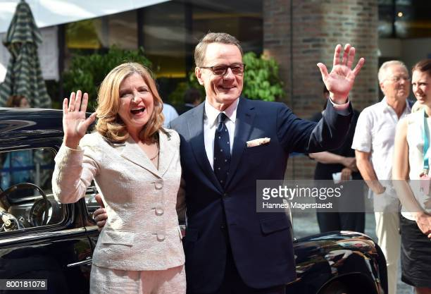 Bryan Cranston and Robin Swicord arrives for the Cine Merit Award Gala during the Munich Film Festival 2017 at Gasteig on June 23 2017 in Munich...