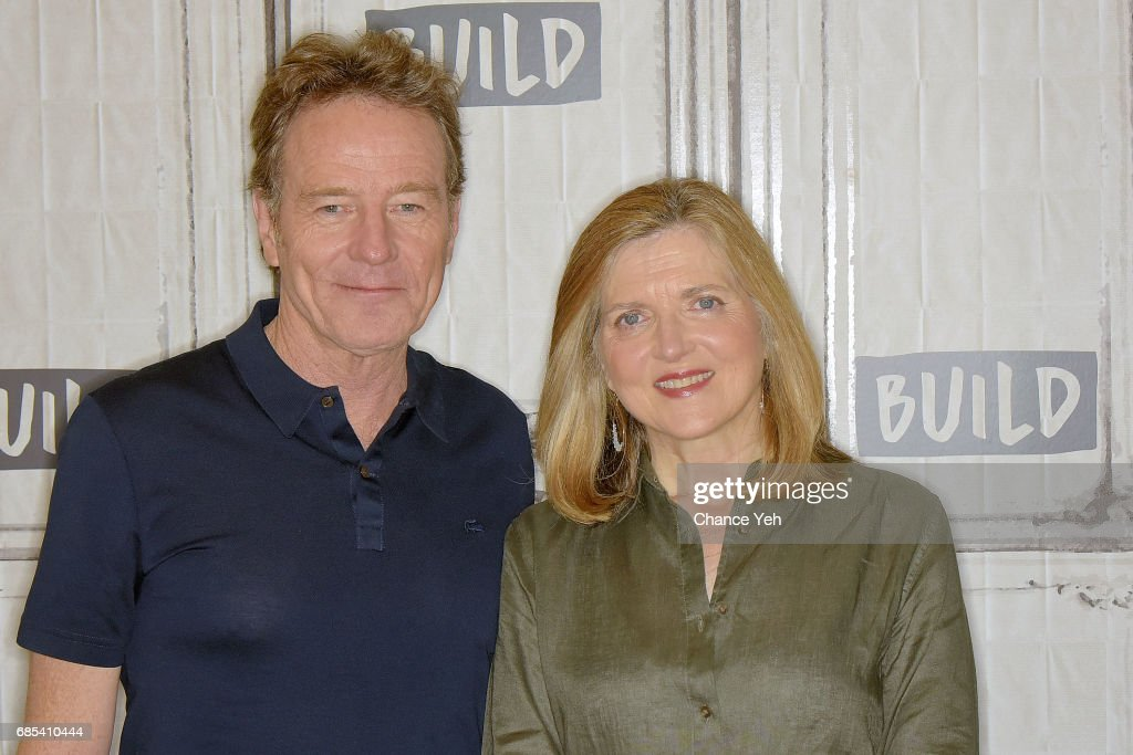 Bryan Cranston (L) and Robin Swicord attend Build series to discuss their new film 'Wakefield' at Build Studio on May 19, 2017 in New York City.