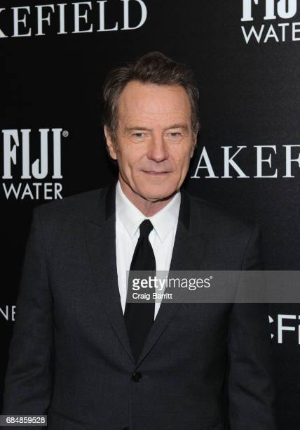 Bryan Cranston attends a special screening of 'Wakefield' hosted by FIJI Water and the Cinema Society at Landmark Sunshine Cinema on May 18 2017 in...