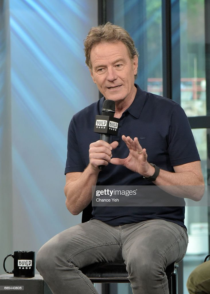 Bryan Cranston attends Build series to discuss his new film 'Wakefield' at Build Studio on May 19, 2017 in New York City.