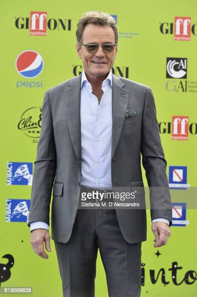 Bryan Cranston attends Giffoni Film Festival 2017 Day 7 Photocall on July 20 2017 in Giffoni Valle Piana Italy